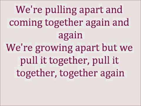 Glee Never Say Never with lyrics