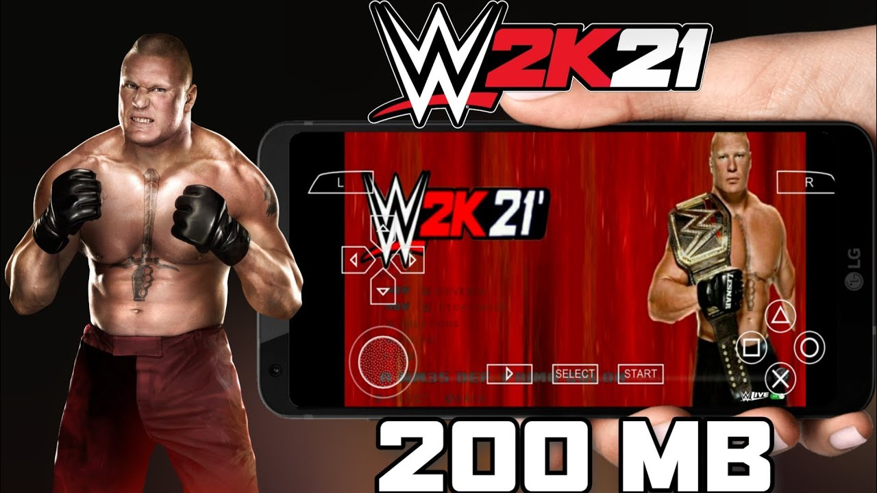 WWE 2K21 PPSSPP ANDROID DOWNLOAD   WWE 2K21 PSP MOD - YouTube