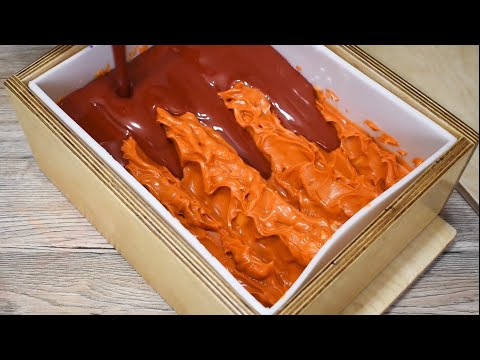 Making Dragons Blood Cold Process Soap