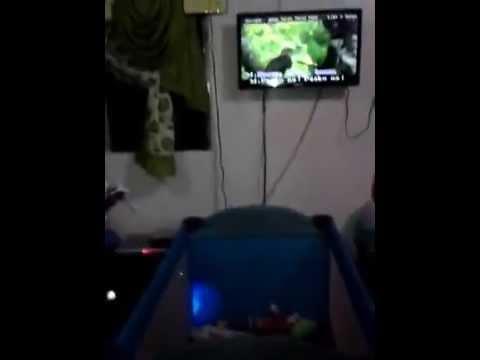 Kuya Janssen's videoke time on Christmas eve