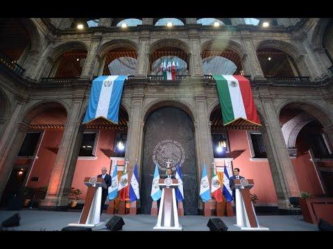 Visita Oficial del Presidente de la República de Guatemala: Firma de Documentos y Mensaje