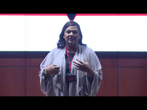 Communicating via poetry | Afra Atiq | TEDxFujairah