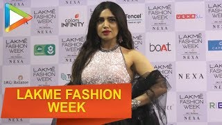Liza Hayden, Karan Johar & Isabel Kaif walk the ramp at Lakme Fashion Week 2019 Day 5