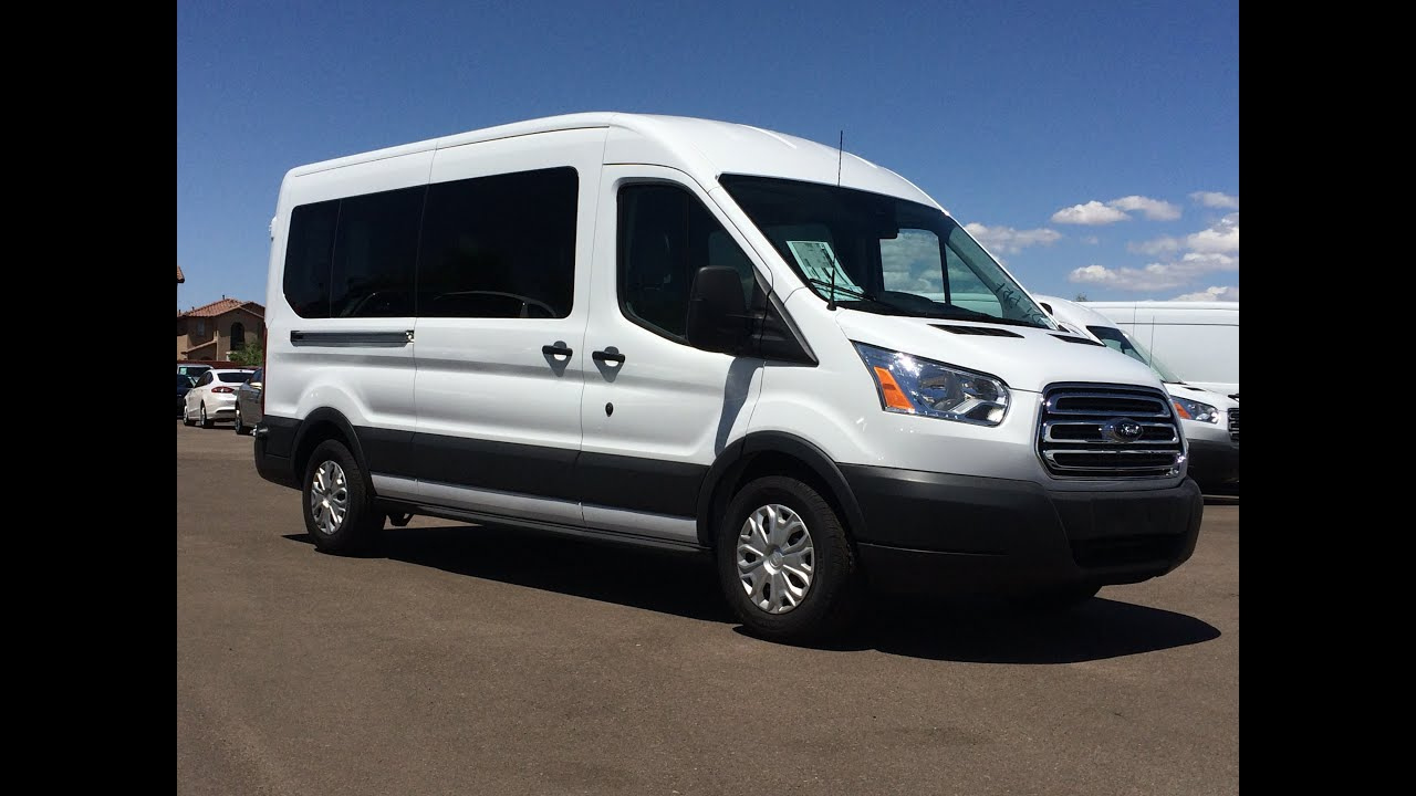 2015 ford transit t350 ecoboost 15 passenger walkaround youtube