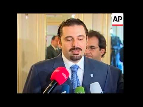 Saad Hariri meets Ivanov demanding ceasefire