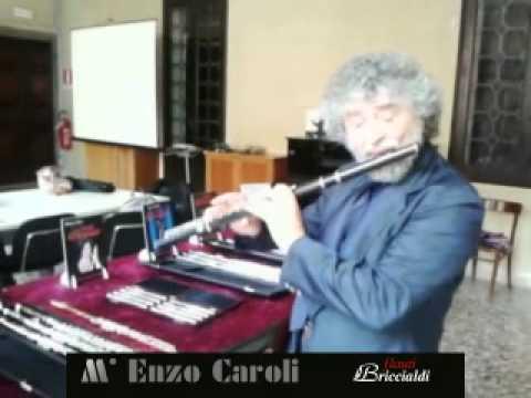 "<span class=""title"">Enzo Caroli   Briccialdi Flauto Flute ebano grenadilla</span>"