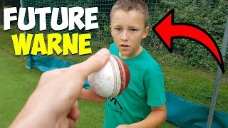 The BEST 10 Year Old Cricketer | Coaches Leg Spin