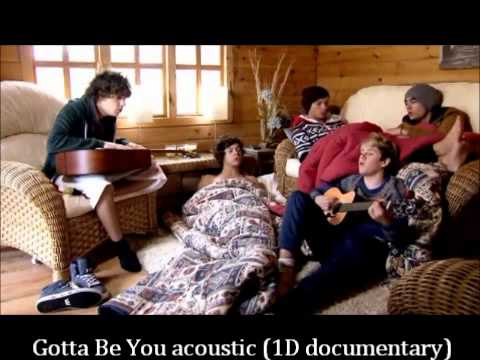 One Direction Gotta Be You acoustic