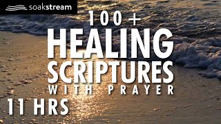 Healing Scriptures with Soaking Music and Healing Prayer LOOPED