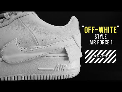 """""""OFF WHITE"""" VIBE AIR FORCE ONES THAT YOU NEED IN YOUR COLLECTION!! NIKE REIMAGINED x AF1 UNBOXING"""
