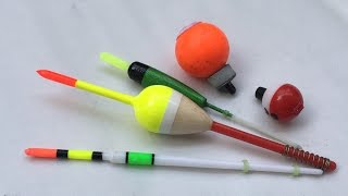 DIY - Fishing Tips - How To Use Non-Slip Fishing Floats - Cách Dùng Phao Tĩnh