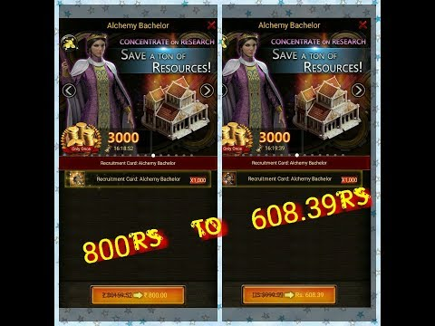 Trick To Get Reduced Price Packs In COK India (Clash Of Kings)