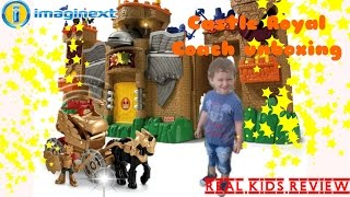 Fisher-Price Imaginext Castle Royal Coach Unboxing