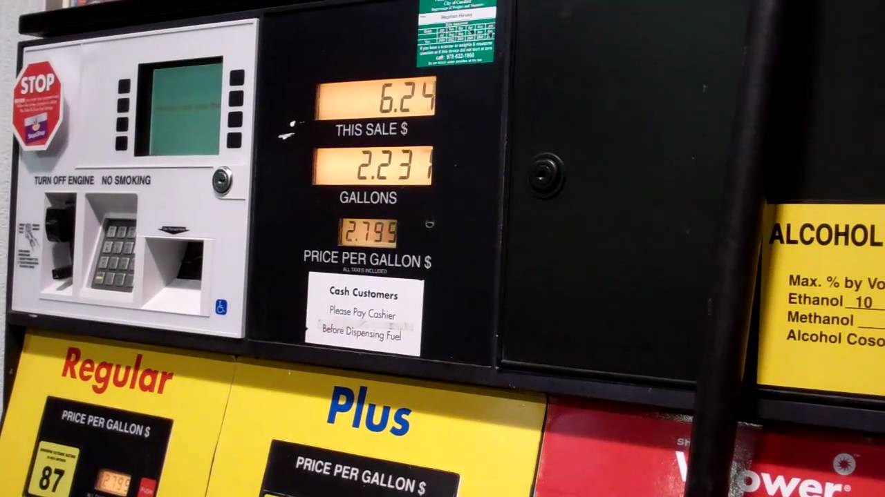 Shell Gas Station Pump