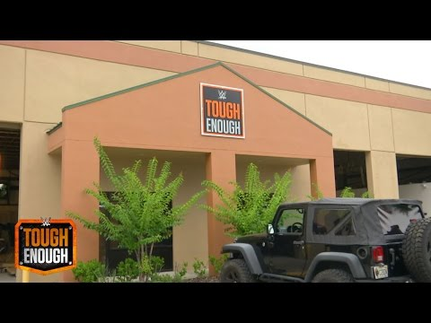 Triple H reveals the WWE Performance Center Tough Enough Barracks - WWE #ToughEnough