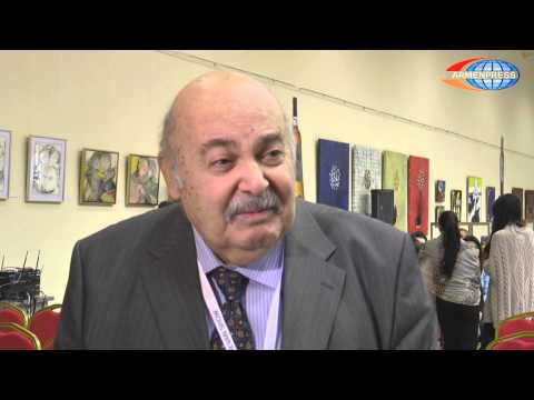 """Interview with Harry Levy at """"Armenia – jewelry centre"""""""