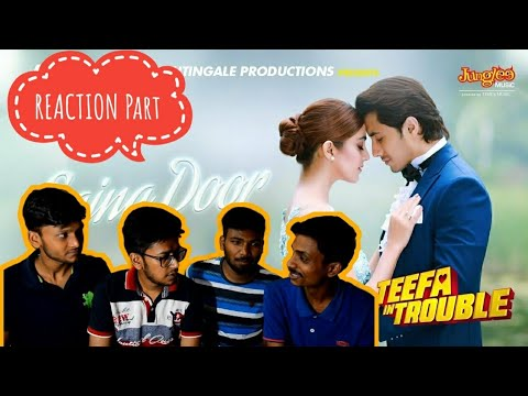 Indian Reacts To:- SAJNA DOOR | Aima Baig | Ali Zafar Teefa In Trouble | REACTION PART |