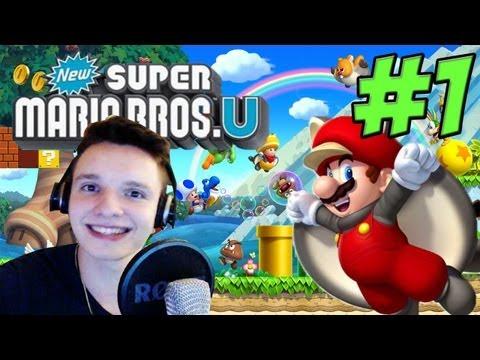 ZEIT FÜR EIN NEUES ABENTEUER!!! - Super Mario Bros U - Part 1