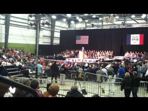 Donald Trump on Trade, importing from Japan, Spencer Iowa 12-5-15