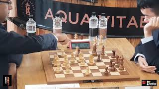 Super GM fight - Vishy Anand vs Ding Liren | Lindores Abbey 2019 Round 2