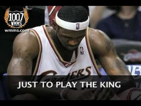 King Nothing - Goodbye LeBron - WMMS 100.7
