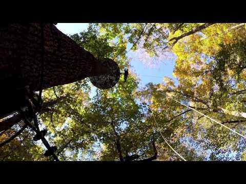 The Gorge Zipline Canopy Adventure in Saluda, NC w/ Hero4 and DJI Phantom 2