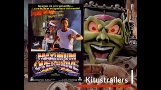 Maximum Overdrive (La Rebelion de las Maquinas) Trailer en Castellano