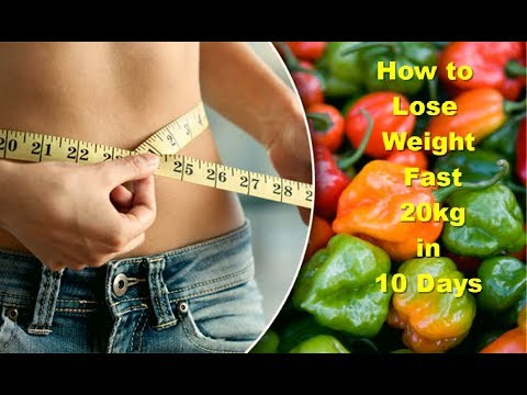 How to Lose Weight Fast 20 Kg in 10 Days Lose Belly Fat Overnight Loss Weight in 1 Week at Home