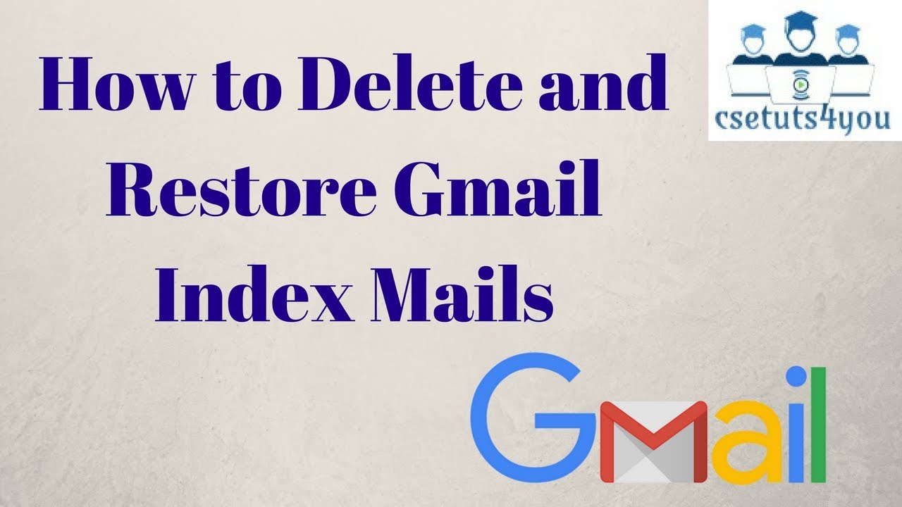 Gmail theme delete - How To Delete Gmail Inbox In Hindi