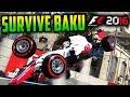 SURVIVE BAKU - F1 2016 Game (Keyboard & No Map Challenge)