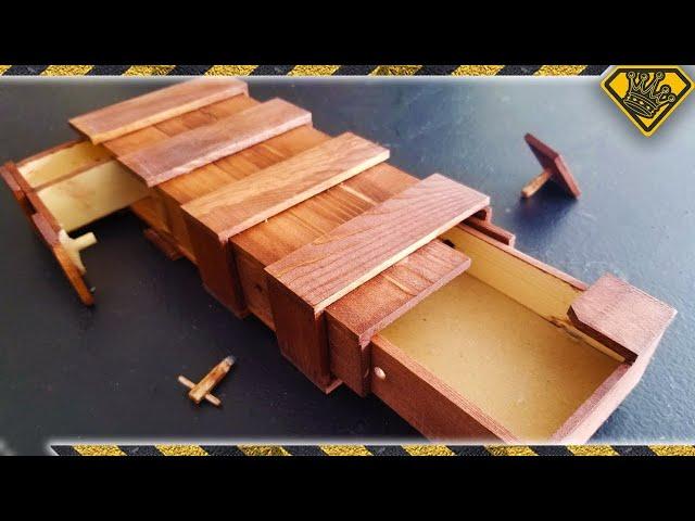 Grant's DIY Mystery Puzzle Box