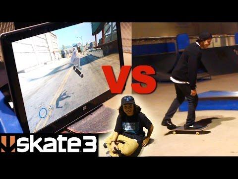 REAL SKATER VS EA SKATE 3