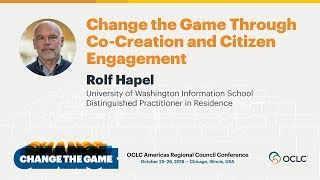 Change the Game Through Co-Creation and Citizen Engagement