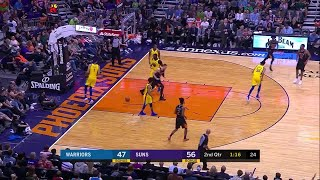 2nd Quarter, One Box Video: Phoenix Suns vs. Golden State Warriors