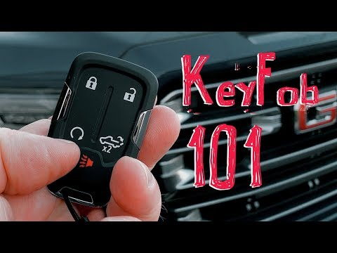 2019-gmc-sierra-quick-start-guide-1:-the-amazing-keyfob