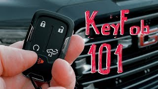 2019 GMC Sierra Quick Start Guide 1: The Amazing Keyfob