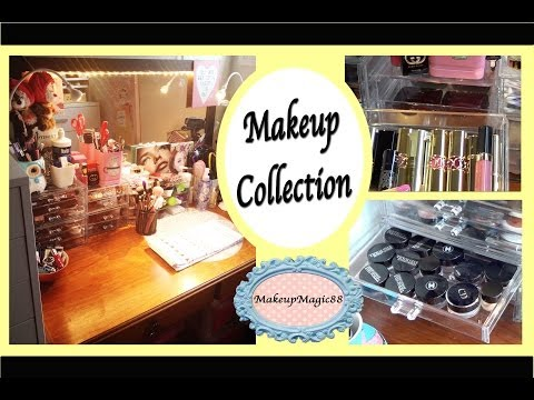♥ Luxury Makeup Collection - Vanity Tour ♥
