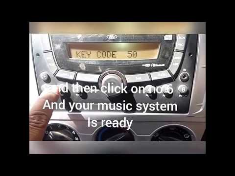 how to unlock code of ford Car music system password