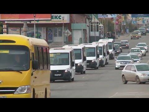 """""""Запуск автобусов 55-ого маршрута в Бийске откладывается"""" (Будни, 03.10.17г., Бийское телевидение)"""