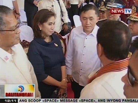 BT: Pres. Duterte, inimbitahan si VP Robredo at kanyang pamilya na maghapunan sa Malacañang