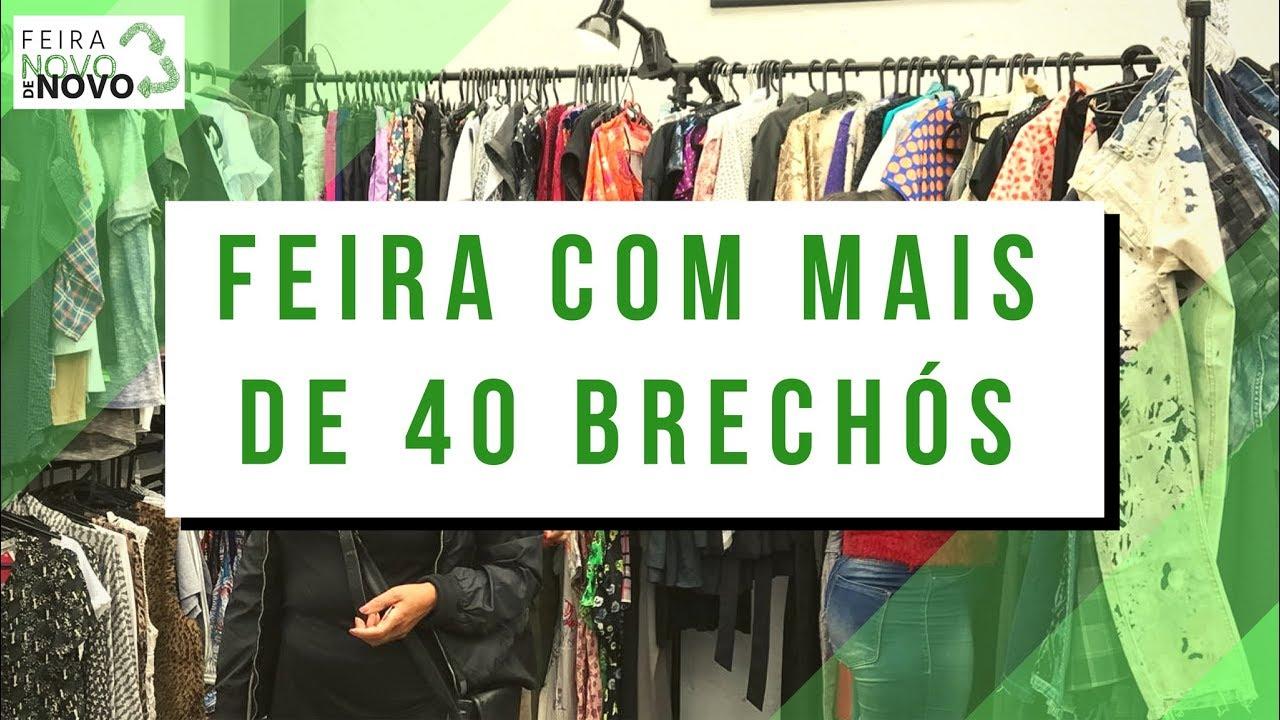 Feira com mais de 40 BRECHÓS em São Paulo - Feira Novo de Novo