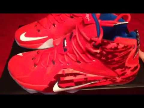 130630a2304 LeBron 12 Independence Day - YouTube