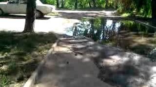 Канализация выкачивается прямо на асфальт во дворе!!!!(, 2012-07-09T18:12:13.000Z)