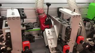 Станок для облицовывания кромок мебельных деталей WoodTec EdgeMatic 400 NEW ч. 1