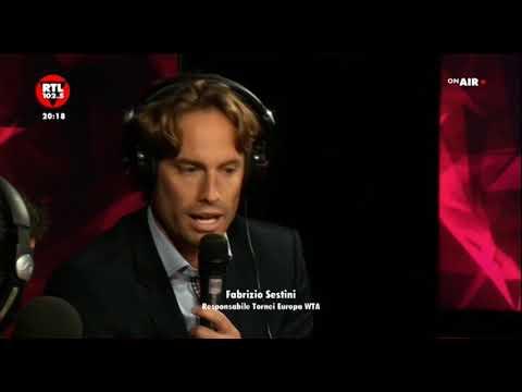 Internazionali BNL D'Italia di Tennis - Fabrizio Sestini - Responsabile relazioni tornei Europa WTA