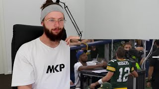 Rugby Player Reacts to NFL Top 100 Players of 2018 AARON RODGERS (#10)