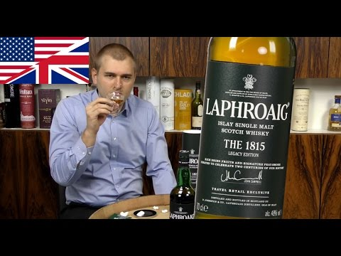 Whisky Review/Tasting: Laphroaig The 1815 Legacy Edition