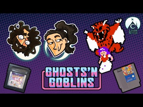 Loon Attic: Ghost 'n Goblins (GBC & NES)   Batman Stole My Mum