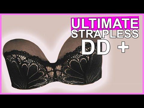 BEST STRAPLESS BRA   DD+ Fuller Bust Bras