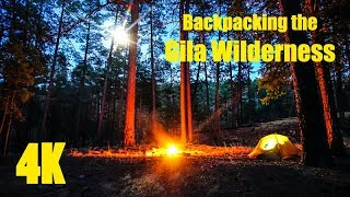 Backpacking the Gila Wilderness 4K: 10 Day Middle Fork/South Fork Loop (Full)